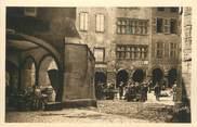 """12 Aveyron .CPA   FRANCE 12 """"Villefranche de Rouergue, Les Arcades, maison renaissance"""""""
