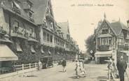 """14 Calvado .CPA FRANCE 14 """"Deauville, Rue de l'écluse"""""""