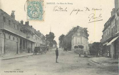 """.CPA FRANCE 14 """"Dozulé, Haut du bourg"""""""