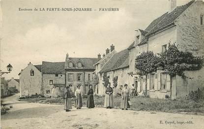 """CPA FRANCE 77  """"Favières, env. de La Ferté sous Jouarre"""""""