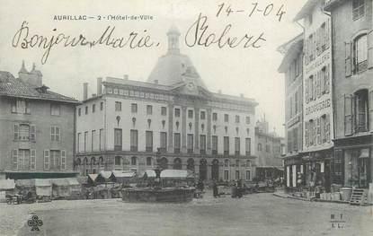 """.CPA  FRANCE 15 """"Aurillac, Hôtel de Ville"""""""