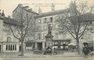 """15 Cantal .CPA  FRANCE 15 """"Aurillac, Statue du Droit de l'Homme, Place de la Grande Fontaine"""""""