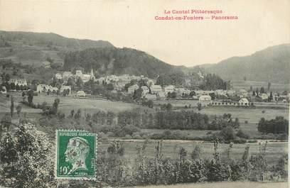 ".CPA  FRANCE 15 ""Condat En Féniers, Panorama"""