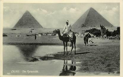"""CPA EGYPTE """"Le Caire, les Pyramides"""