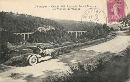 """.CPA FRANCE 15  """"Mauriac, Rourte de Bort, les viaducs de Vendes"""""""
