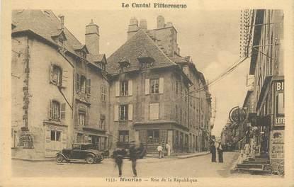 """.CPA FRANCE 15   """"Mauriac, Rue de la République"""""""