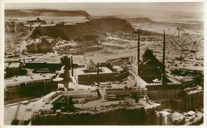 """CPA EGYPTE """"le Caire, vue aérienne de la citadelle"""""""