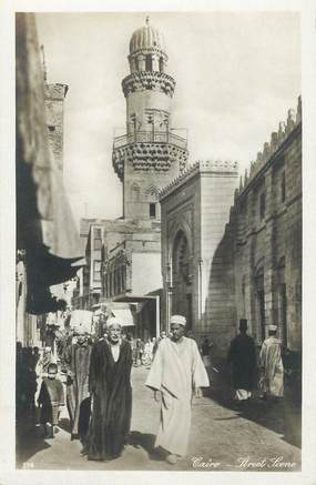 "CPA EGYPTE ""le Caire, Street Scene"""