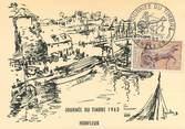 """14 Calvado CPA FRANCE 14 """"Honfleur, la journée du Timbre 1963"""""""