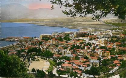 """CPSM ALGERIE """"Bougie, la Ville, vue de la route du Gouraya"""""""