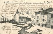 "15 Cantal .CPA FRANCE 15   "" St Flour, Ancien quartier de la Bastide"""