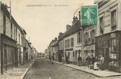 """CPA FRANCE 77  """"Faremoutiers, rue des Ormes"""""""