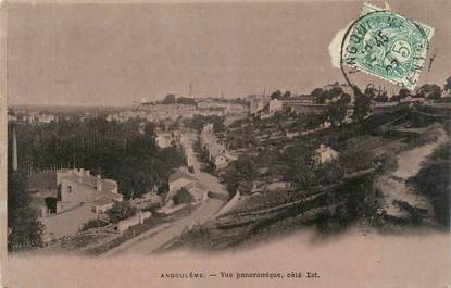 ".CPA FRANCE 16  ""Angoulème, Vue panoramique"""