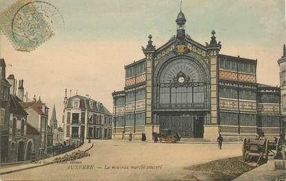 """CPA FRANCE 89 """"Auxerre, le nouveau marché couvert"""""""