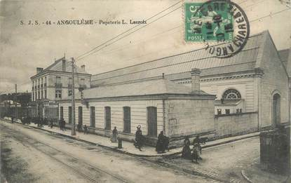 Cpa france 16 angoul me papeterie l lacroix 16 for Plan angouleme 16