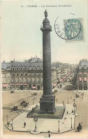 """CPA FRANCE 75001 """"Paris, la colonne Vendôme"""""""