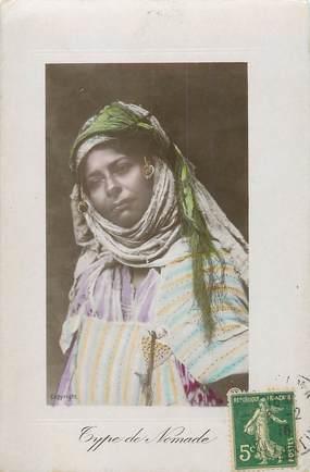 "CPA ALGERIE ""Type de nomade"" / FEMME"