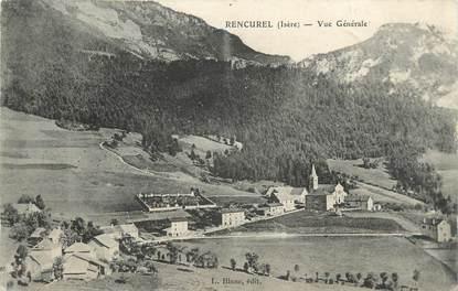 """.CPA   FRANCE 38 """" Rencurel, Vue générale"""""""