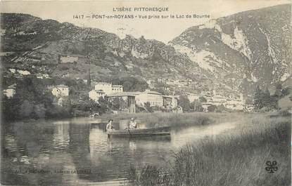 """.CPA  FRANCE 26 """" Pont en Royans, Vue prise sur le lac de la Bourne"""""""
