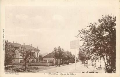 """CPA ALGERIE """"Gouraya, entrée du village"""""""