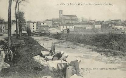 """.CPA FRANCE 85 """" Chaillé les Marais, Vue générale """""""