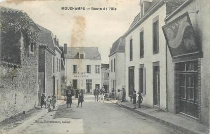 """.CPA  FRANCE 85 """" Mouchamps, Route de l'Oie"""""""