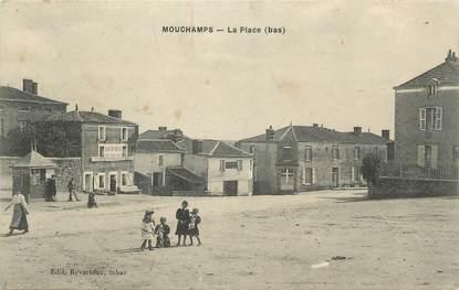 """.CPA  FRANCE 85 """" Mouchamps, La place"""""""