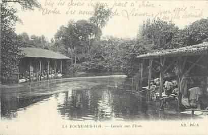 ".CPA FRANCE 85 "" La Roche sur Yon,  Lavoir sur l'Yon"""