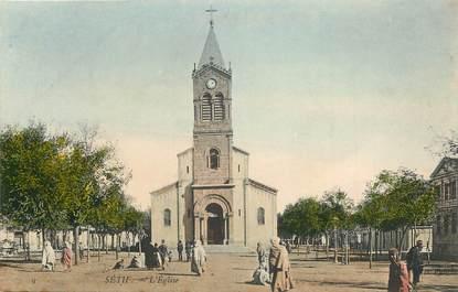 """CPA ALGERIE """"Sétif, l'Eglise"""""""