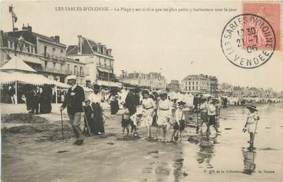 """.CPA FRANCE 85 """"Les Sables d'Olonne, La plage"""""""