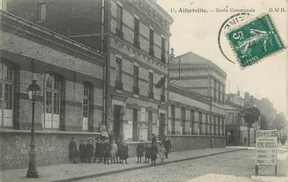 """.CPA FRANCE 94  """" Alfortville, Ecole communale"""""""