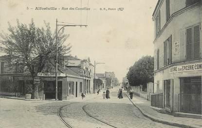 """. CPA FRANCE 94  """" Alfortville,  Rue des Camélias"""""""