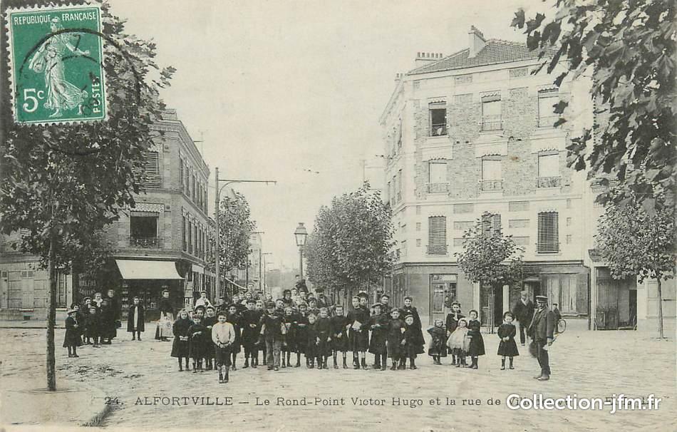 Alfortville France  City pictures : CPA FRANCE 94