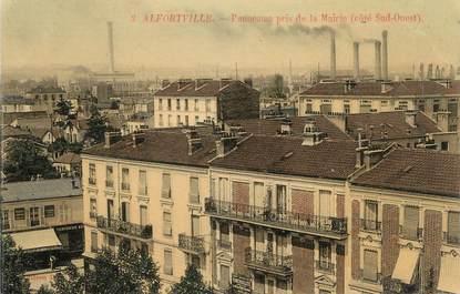 ". CPA FRANCE 94  "" Alfortville,  Panorama pris de la Mairie"""