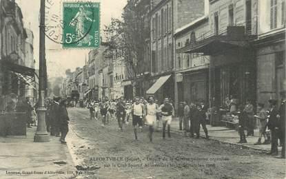 """CPA FRANCE 94 """"Alfortville, départ de la Course pédestre 1908"""""""