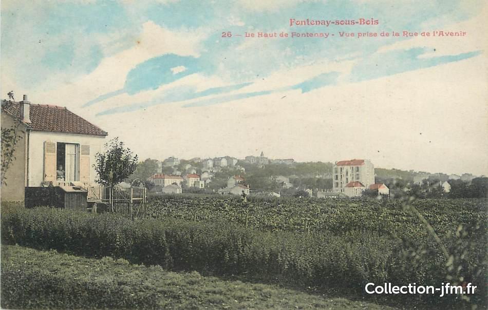 """Fontenay Sous Bois France -  CPA FRANCE 94"""" Fontenay sous Bois, Le haut de Fontenay"""" 94 val de marne fontenay sous"""