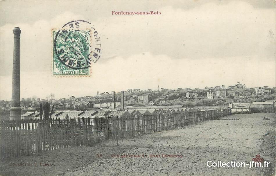 """CPA FRANCE 94"""" Fontenay sous Bois"""" 94 val de marne fontenay sous bois (94) Ref 130131  # France Pare Brise Fontenay Sous Bois"""