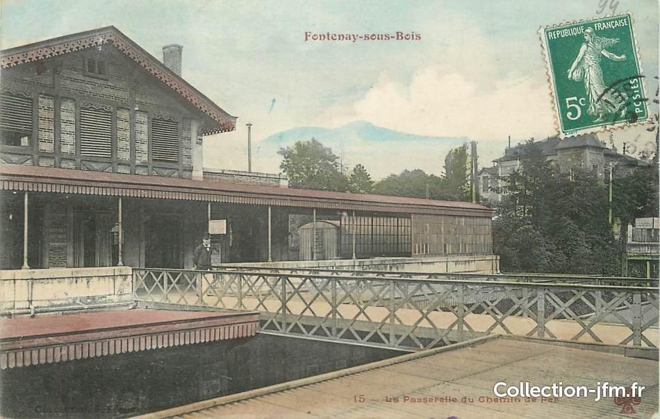 """CPA FRANCE 94"""" Fontenay sous Bois"""" 94 val de marne fontenay sous bois (94) Ref  # Fontenay Sous Bois France"""