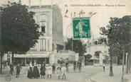 """94 Val De Marne . CPA FRANCE 94  """"  Fontenay  sous Bois, Place de la Station """""""