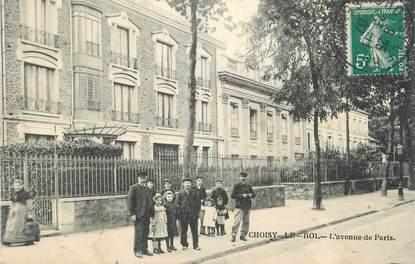 """.CPA FRANCE 94 """" Choisy le Roi,   L'avenue de Paris"""""""
