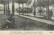 """94 Val De Marne .CPA FRANCE 94 """" Choisy le Roi, L'attaque, la voiture de paille protégeant le Lieutenant Fontan """"/ LA BANDE A BONNOT"""