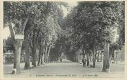 "38 Isere .CPA FRANCE 38 ""   Voiron, Promenade du Mail"""