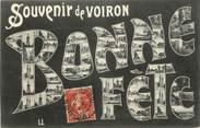 """38 Isere .CPA FRANCE 38 """"   Voiron, Bonne fête, vues"""""""