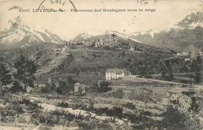 """.CPA  FRANCE 06  """"Levens, Panorama des montagnes sous la neige"""""""