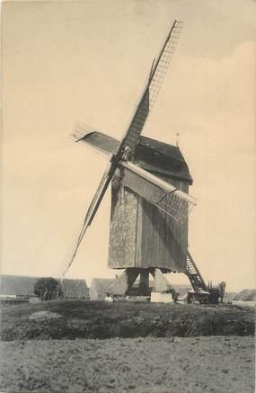 """CPA BELGIQUE """" Le Coq, le Moulin"""""""