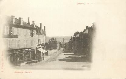 """.CPA FRANCE 19 """" Brive,  Avenue de la Gare"""""""