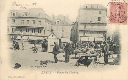 """.CPA FRANCE 19 """" Brive,  Place du Civoire"""""""