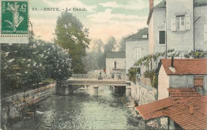 """.CPA FRANCE 19 """" Brive, Le canal"""""""