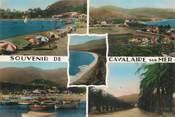 """83 Var  CPSM FRANCE 83 """"Cavalaire  sur Mer,  la plage """""""