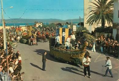 """CPSM FRANCE 83 """"Cavalaire  sur Mer, le Corso annuel du Mimosa"""""""